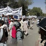 Afghans hold anti-US demonstration