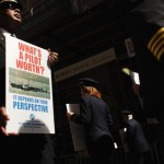 Union Airline Pilots Occupy Wall Street