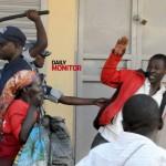 Walk to work: Teargas, gunshots rock downtown Kampala