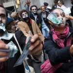 Chile's 'Zombies,' Catholics & 'Indignants' strut their stuff