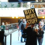 Occupy Christmas kicked off on Buy Nothing Day