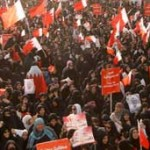 Bahrain protesters join anti-government march in Manama