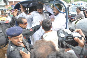 Daily Times - Leading News Resource of Pakistan - 27 APCNGA activists arrested during protest