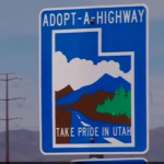 Activist group Restore the Fourth Utah adopts highway to NSA data center.