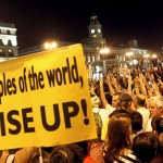 Madrid's Sol square lights up the global stage for world protests