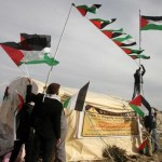 Israel dismantles Palestinian protest camp