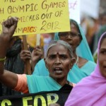 Bhopal survivors protest Dow's Olympic sponsorship