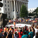 Civil disobedience, mass arrests as women converge on Washington for immigration reform