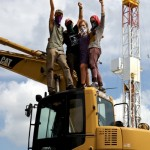 EarthFirst! successfully shuts down fracking site for first time ever in Pennsylvania