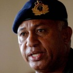 Protest against deteriorating Fijian human rights