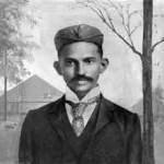 1893 Gandhi's first act of civil disobedience