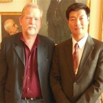 Sikyong meets Mr. Christian Juhl, representative of The Unity List, foreign affairs spokesperson, member of the Foreign Affairs Committee and the Foreign Policy Committee, in Denmark on 20 May 2014. Photo: CTA/DIIR