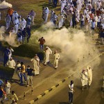 Kuwaiti police fire tear gas at protesters