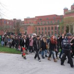 University of Birmingham suspends two students for nine months after peaceful protest