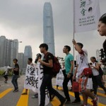 Hong Kong democracy activists issue civil disobedience manual ahead of financial zone sit-in